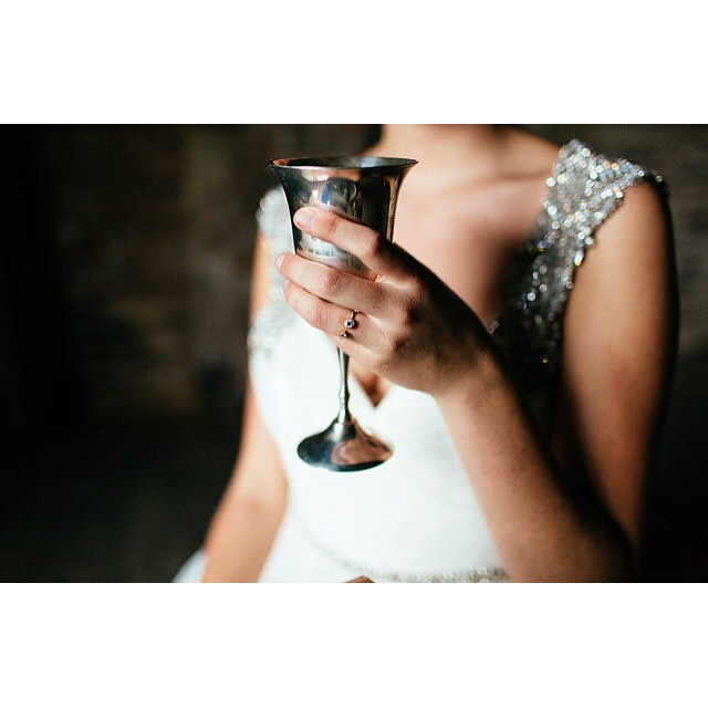 Another ring for another lovely bride. photo by @christinakarst styling by @perfectlytay #emilytriplettjewelry #modernjewelry
