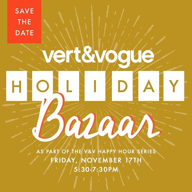 Exciting to be included in this event next Friday. Visit @vertandvogue for more info and check out the killer raffle prizes you could win 🏆