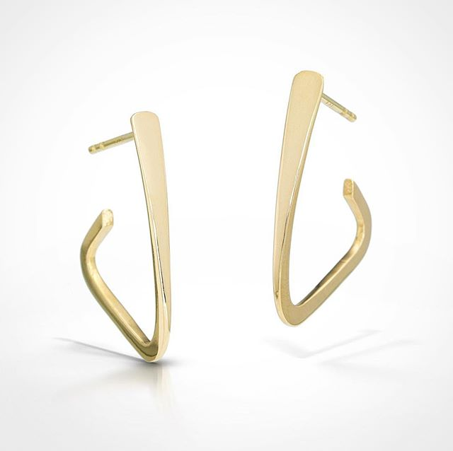Tryst Earrings // 14k gold