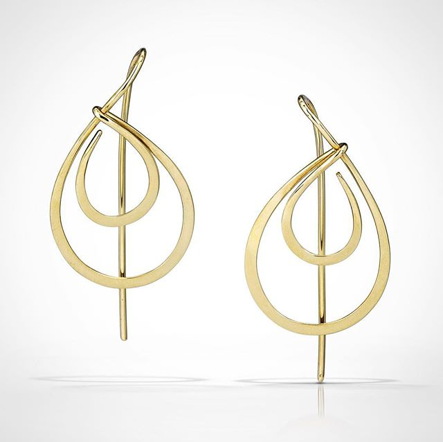 Halo Earring // 14k gold